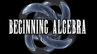 Algebra I (Beginning Algebra) course image