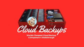 Worlds Cheapest Cloud Backup & Dropshare 4 Walkthrough course image