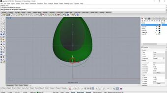 Jewelry CAD Class- How to create a Egg Chair Charm in Rhino 5 course image