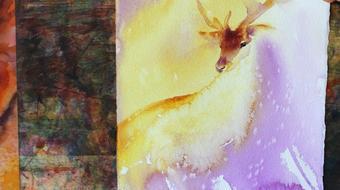 Easy Watercolour Paintings: Deer, Fur course image