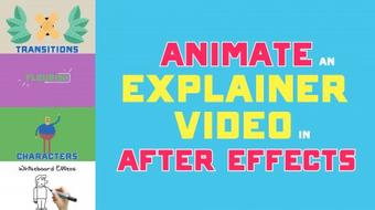 Animate an Explainer Video in After Effects course image
