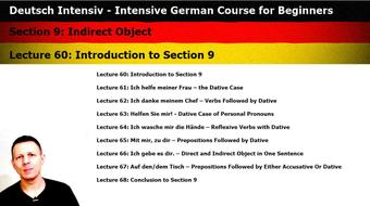 Intensive German: Part 9 - Indirect Object course image