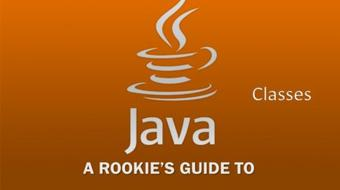 A Rookie's Guide to Java Part 5 - Classes course image