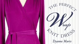 The Perfect Wrap Knit Dress course image