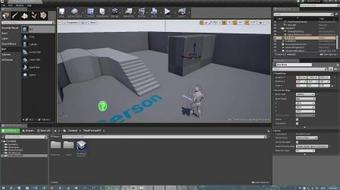 Crash Course in 3D Game Design:  Creating a game level using Unreal Engine 4 course image