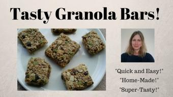 Quick and Easy, Home-Made, Tasty Granola Bars! course image