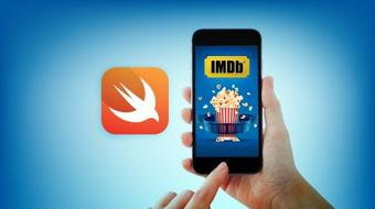 Using Swift to Build an IMDb Search App course image