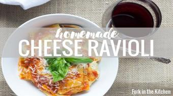 Homemade Cheese Ravioli course image