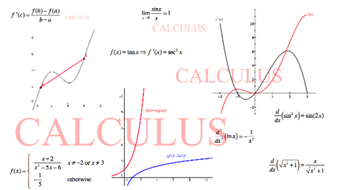 Preparing for the AP* Calculus AB and BC Exams (Part 2 - Integral Calculus) course image