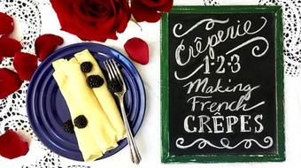 Creperie 1-2-3: How to Make French Crepes course image