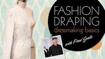 Fashion Draping: Dressmaking Basics course image
