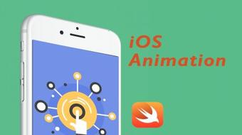 iOS Animation with Swift I - Basic UIView Animations course image