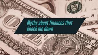Myths about finances that knock me down course image
