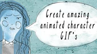 Create Amazing Animated Character GIFs Using Adobe Photoshop! course image
