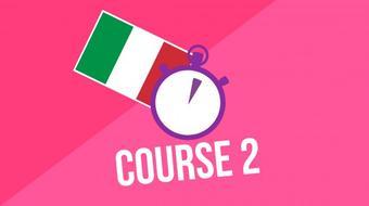 3 Minute Italian - Course 2 course image