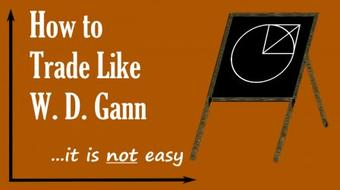 How to Trade Like W. D. Gann - it is NOT easy - Level #1 course image