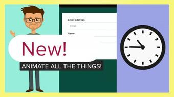 Pure CSS Animations - Animate a clock, a man waving, and a new modal! (No Javascript) course image