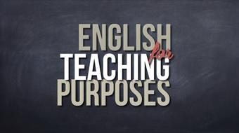 English for Teaching Purposes course image