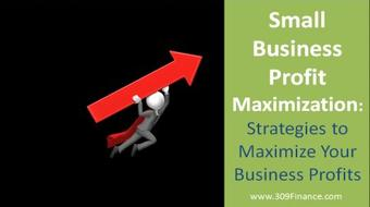 Small Business Profit Maximization: Strategies to Maximize Your Business Profits course image