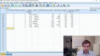 Statistics Explained Easy - SPSS introduction course image