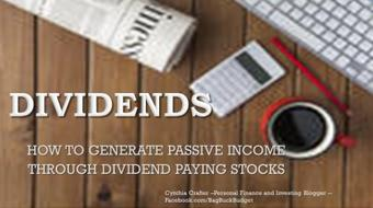 Generate PASSIVE Income Through Dividend Paying Stocks course image
