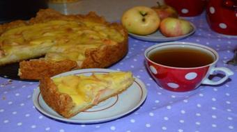 Let's cook Tsvetaeva apple pie course image