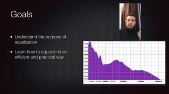 Equalization in the audio mix: learn how to EQ effectively course image
