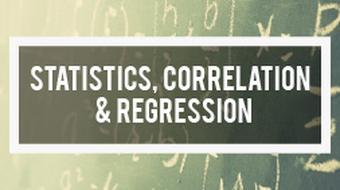 Statistics, Correlation and Regression in Mathematics course image