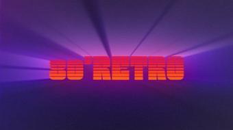 Create your 80's Retro title course image