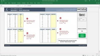 Excel Formulas Training Series - Video Course from Beginner to Advanced course image