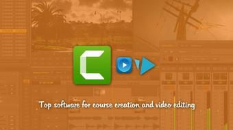 Top software for course creation and video editing || New course image