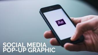 Social Media Pop-up Graphics: Adobe After Effects course image