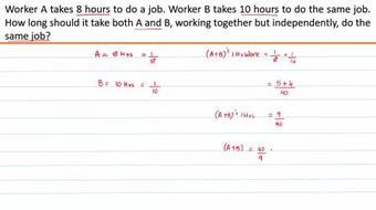 Quantitative Aptitude - Time and Work course image