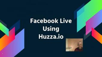 LIveStreaming to Facebook with Huzza.io (Service Closed 28/02/2017) course image