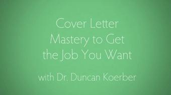 Cover Letter Mastery to Get the Job You Want course image