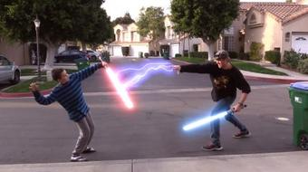 STAR WARS Special Effects! Create your own Star Wars Lightsabers and Lightning! course image