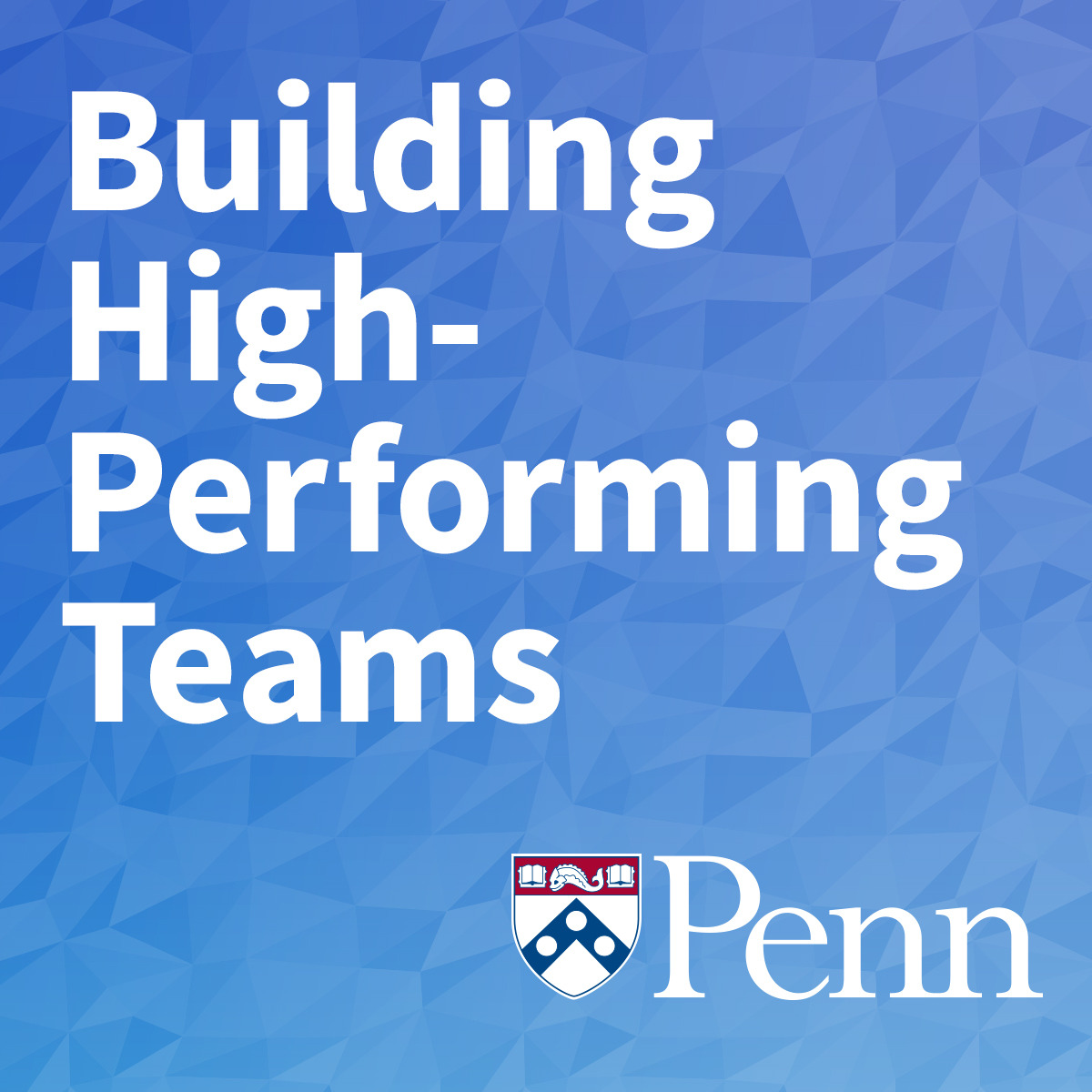 Building High-Performing Teams course image