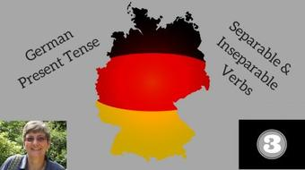 German grammar - present tense #3 - separable & inseparable verbs course image
