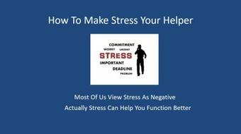 How To Thrive Under Stress course image