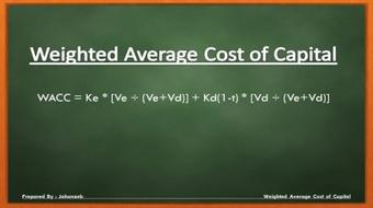 The Weighted Average Cost of Capital course image
