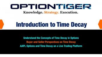 Introduction to Time Decay in Options course image