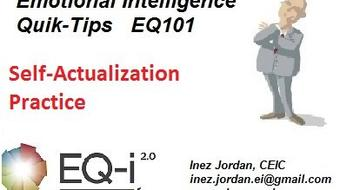 Emotional Intelligence : Quik-Tips for Self-actualization Practice course image