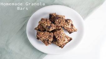 Homemade Healthy Granola Bars course image
