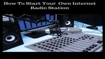 How To Start Your Own Internet Radio Station course image