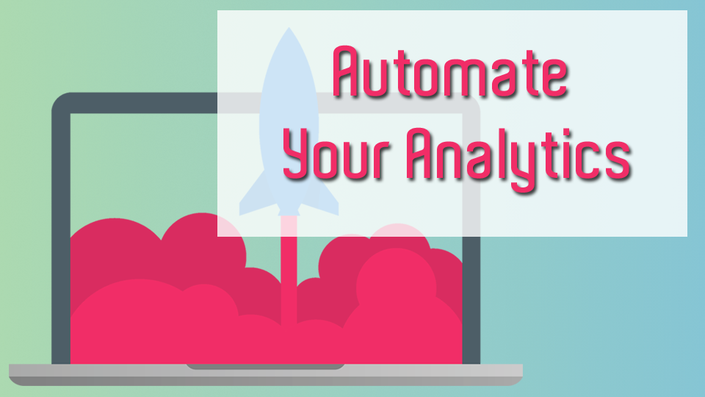Create a Visual Automated Google Analytics Dashboard course image