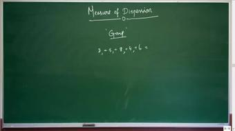 Statistics - Measures of Dispersion for CA / CS / CFA exams course image