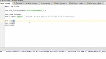 Database Programming with Python II course image