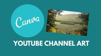 Canva for Entrepreneurs: Design Your Own YouTube Channel Art course image