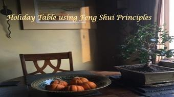 Holiday Table using Feng Shui Principles course image