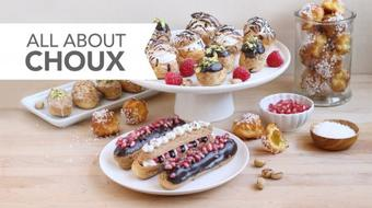 All About Choux: Sweet and Savory Puffed Treats, from Eclairs to Gougeres course image